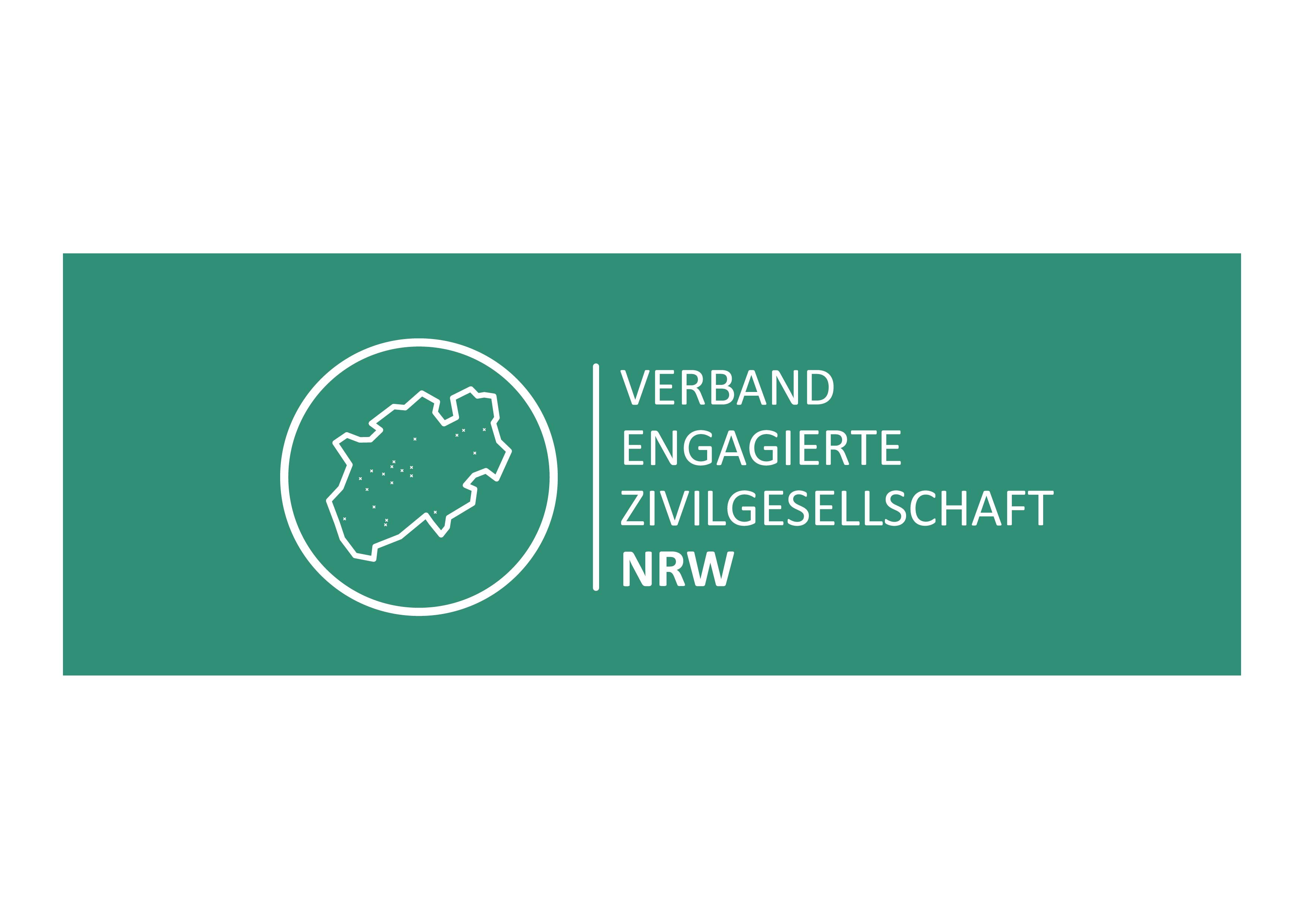 Das Logo des Dachverbands VEZ in NRW e. V.