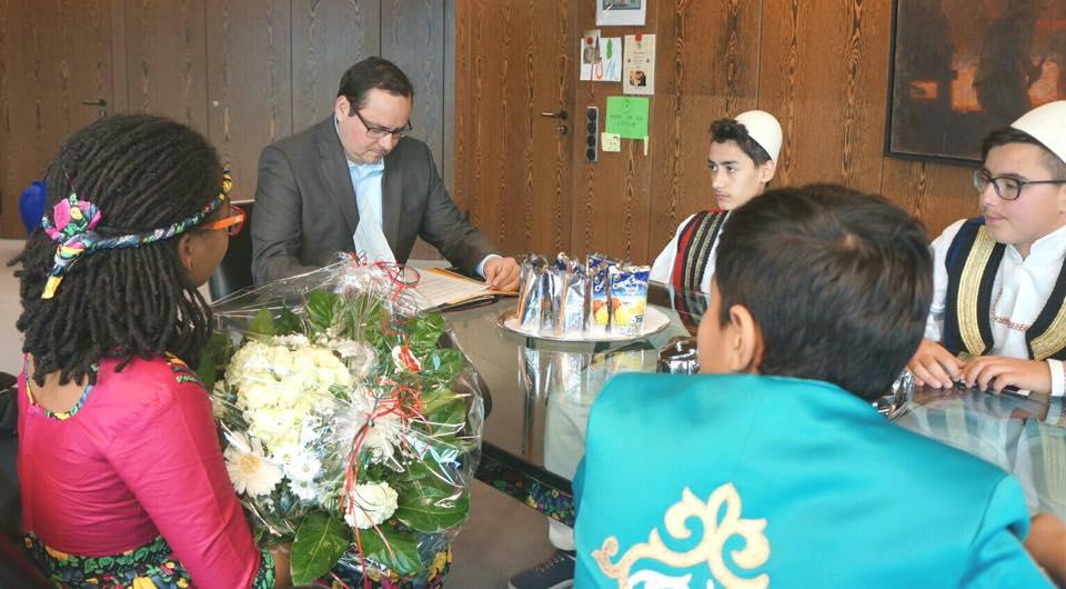 Besuch des Oberbürgermeisters der Stadt Essen Thomas Kufen