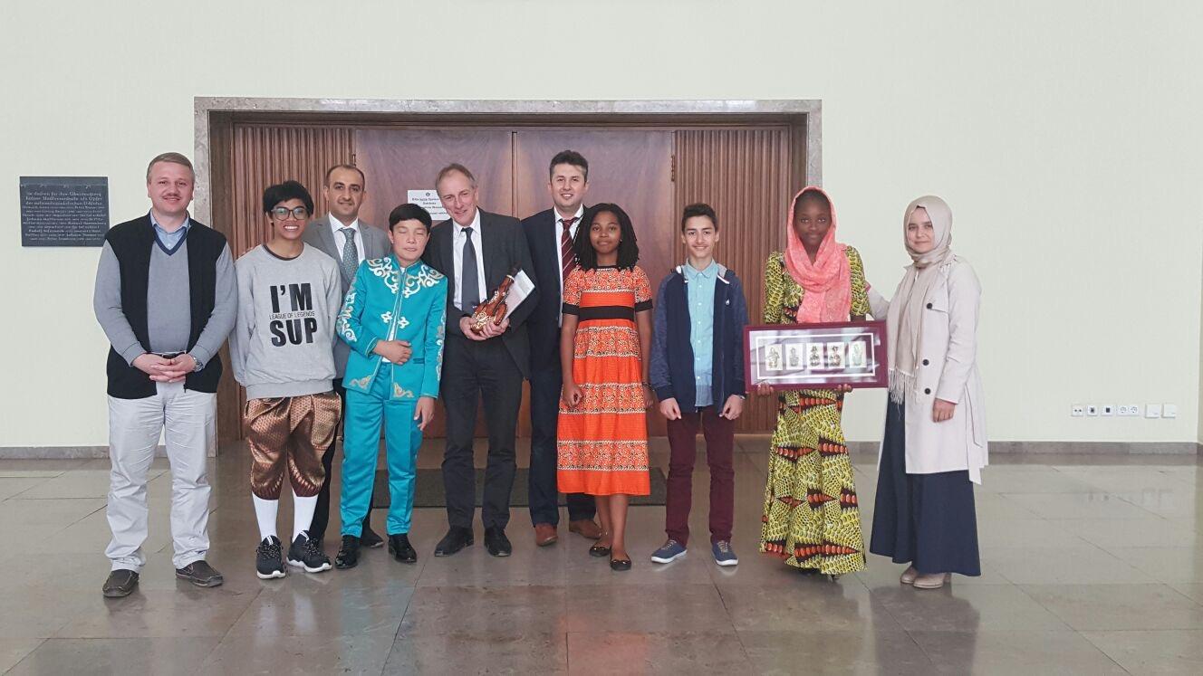 Besuch des Rathauses der Stadt Kölnim Rahmen des IFLC