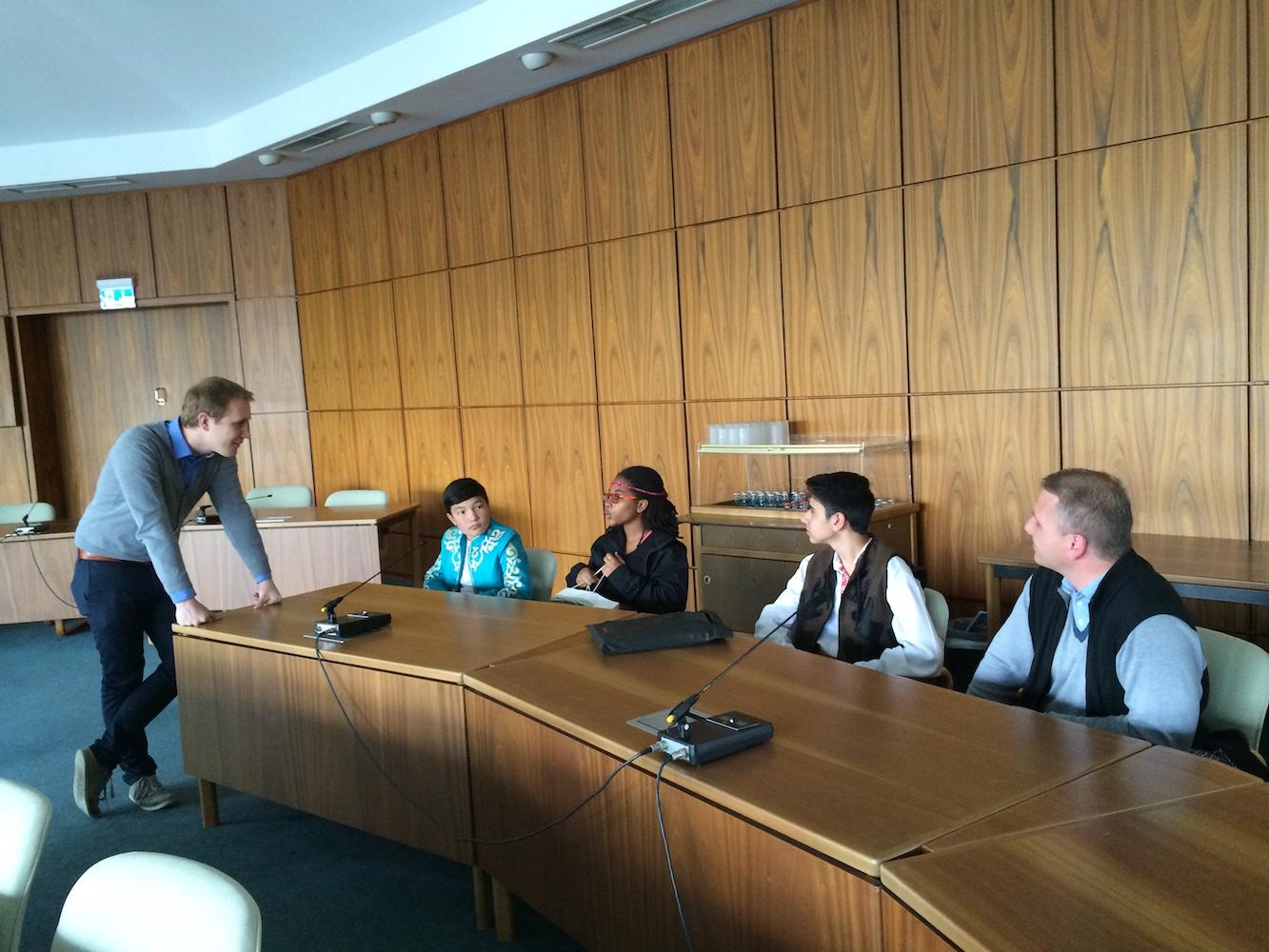 Besuch des Oberbürgermeisters Monheim am Rhein im Rahmen des IFLC