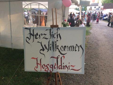 Im Oberhausener Kaisergarten: Wohltätigkeitsfest für Flüchtlinge