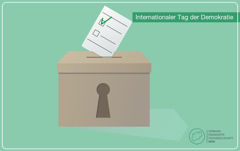 Pressemitteilung zum Internationalen Tag der Demokratie