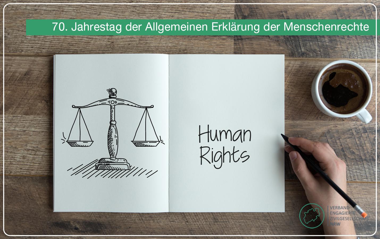 Pressemitteilung: 70. Jahrestag der Allgemeinen Erklärung der Menschenrechte