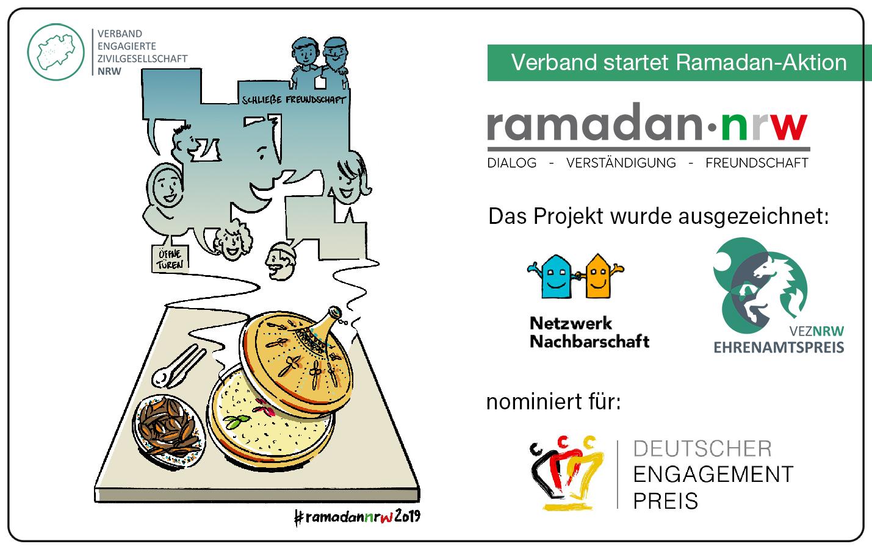 Verband lädt zur Teilnahme an Ramadan-Aktion ein
