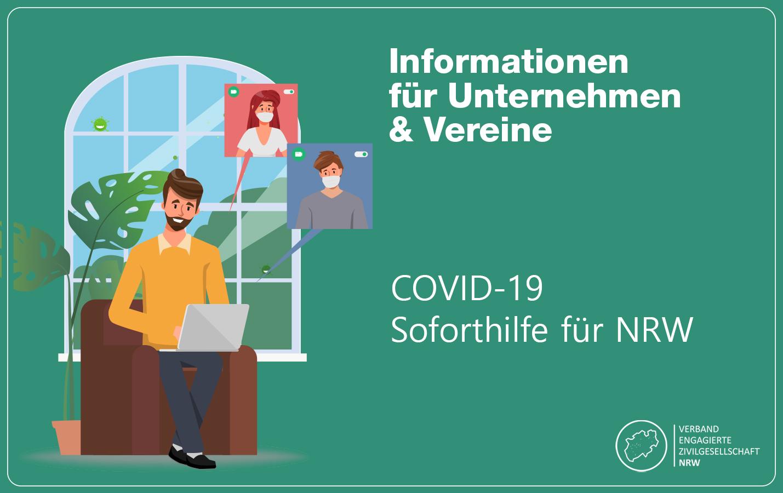 Informationen für Unternehmen und Vereine – NRW Soforthilfe 2020