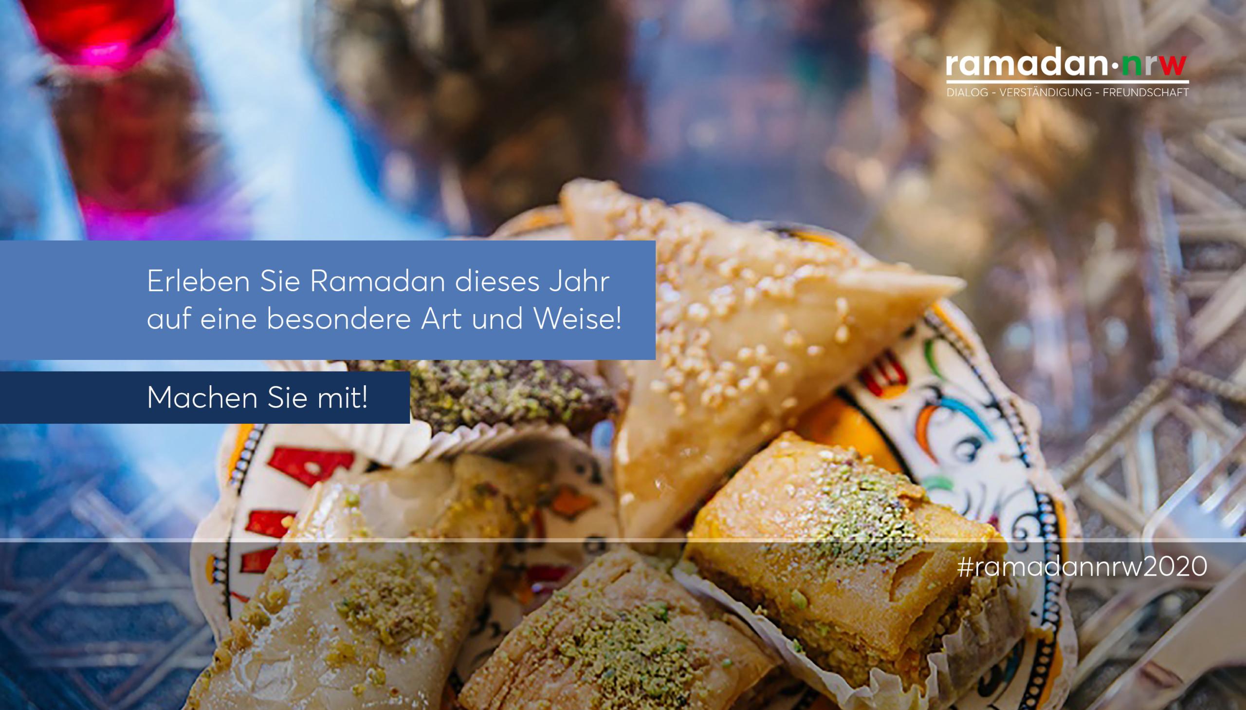 """Verband lädt zur Teilnahme an den Aktionen von """"ramadan-nrw"""" ein."""