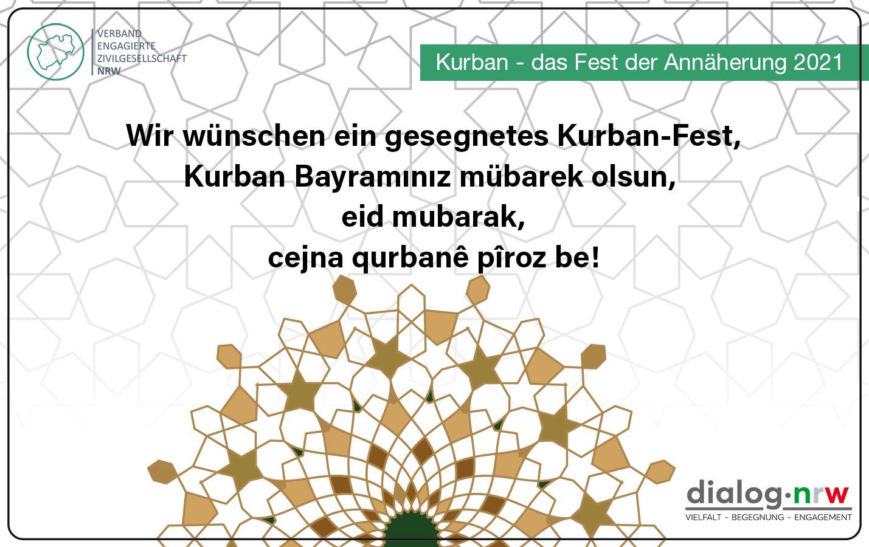 Kurban- Ein Fest der Annäherung.